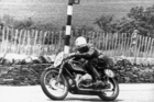 75 years ago Georg Meier guided a supercharged BMW to victory in the Senior TT on the Isle of Man, becoming the first non-British rider to win the race. Photos / Supplied