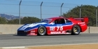 Legendary racer Steve Millen and his Nissan 300ZX take to the track