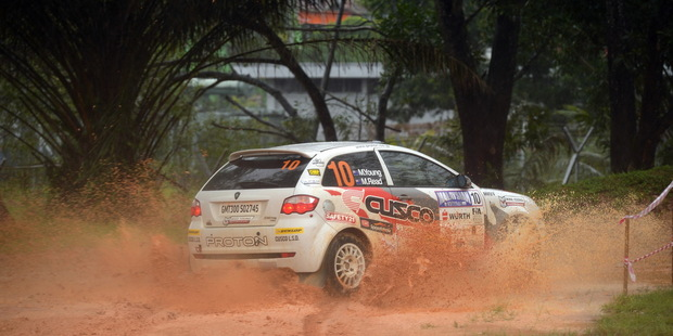 Michael Young is fourth in the overall APRC drivers' championship. Photo / Supplied