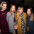 Lucy Korn, Jade Leigh Kelly, Alex Walker and Jiali Yang, all wearing Karen Walker. Picture / Sam Lee