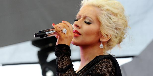 Christina Aguilera has called her newborn daughter 'Summer Rain'. Photo/Getty