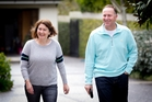 Bronagh and John Key have a semblance of a private life but have already talked about life after politics. Photo / Sarah Ivey