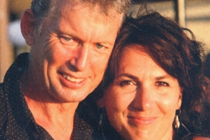 Jerome Box (pictured with wife Adelle) was farewelled at a service at Greenlane Christian Centre yesterday.