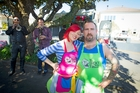 Otis and Sarah Frizzell of the Lucky Taco truck. Photo / MIchael Craig