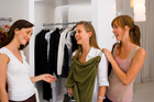 When shoppers can try on clothes and other merchandise, they don't have to agonise over a picture online and wonder whether it's worth the investment. Photo / Thinkstock