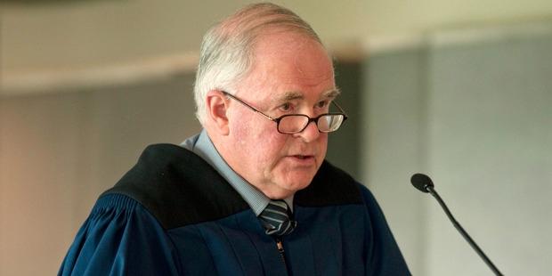 Chief Coroner Judge Neil MacLean has released the latest provisional suicide statistics. File photo / NZPA
