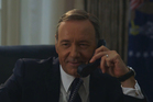 Kevin Spacey 'prank calls' Hillary Clinton. Photo / YouTube