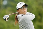 Lydia Ko watches her tee shot on the second hole during the third round of the Wegmans LPGA Championship at Monroe Golf Club in Pittsford, New York. Photo / Getty Images