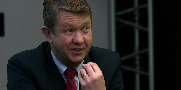 Loading David Cunliffe says he sometimes wears his heart on his sleeve. Photo / NZ Herald