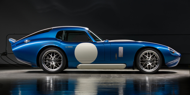 The Renovo Coupe is an all-electric car with a powertrain that pumps a thoroughly colossal 1355Nm of torque and in excess of 375kW.