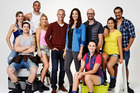 The cast of The Block 2014.