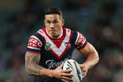 Sonny Bill Williams is set to return from a thumb injury for the Sydney Roosters' vital clash against the Warriors. Photo / Getty Images.