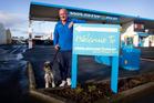 Jeff Olsen is a dog wash/car wash attendant. Photo / Christine Cornege