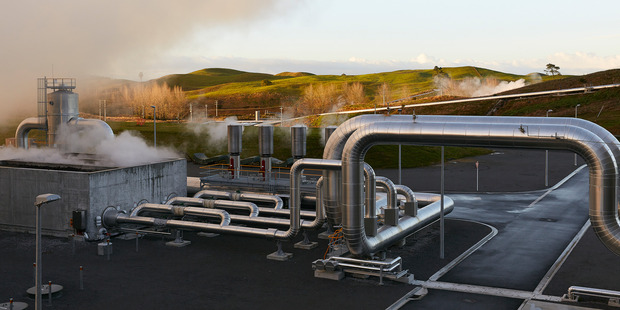 Te Mihi, Contact Energy's newest geothermal power station in Wairakei. The company's investment programme in new stations is now largely complete.