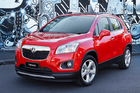 The new Holden Trax includes new specs such as a sunroof.