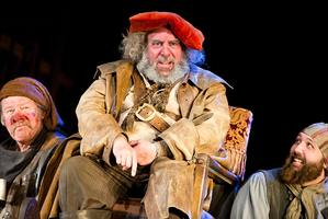 Antony Sher as Henry IV.