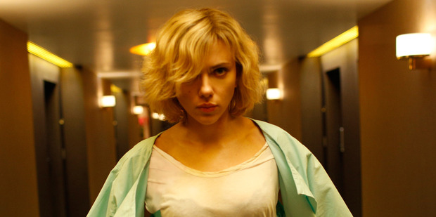 Scarlett Johansson kicks off this sci-fi thriller brilliantly as a student used as a drug mule.