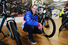 Tauranga Road Cycling Club member Victor Haupt said a proper cycling trail in the area would put Tauranga on the map. Photo / Ruth Keber