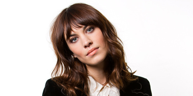 British model Alexa Chung is all over the shoulder-length layers with a heavy fringe. Photo / AP