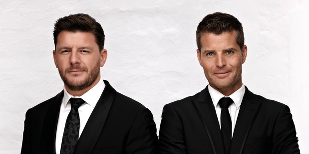 Manu Feildel and Pete Evans served up judgment on MKR.