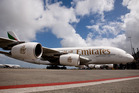 Emirates has just taken delivery of its 50th Airbus A380. Photo / NZ Herald