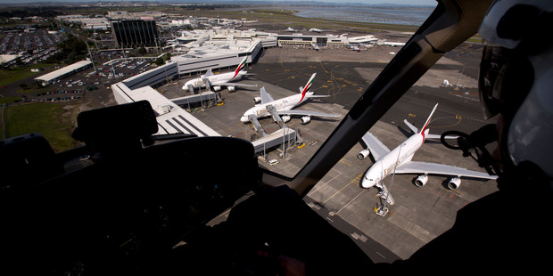Auckland International Airport. Photo / Dean Purcell