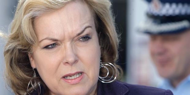 Minister Judith Collins. Photo / Ben Fraser