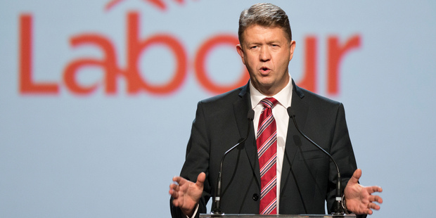 Labour Party leader David Cunliffe during his speech to the party's pre-election congress in Wellington. Photo / Mark Mitchell
