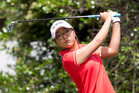 Lydia Ko has also been struggling with a wrist injury. Photo / Natalie Slade