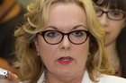 Judith Collins' leadership ambitions have been smashed to smithereens. Photo / Mark Mitchell