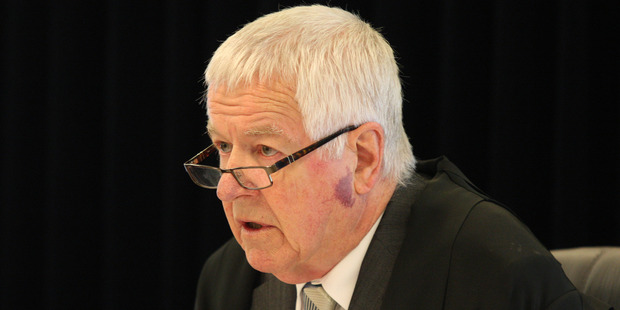 Justice Hansen. New Zealand Herald Photograph by Natalie Slade