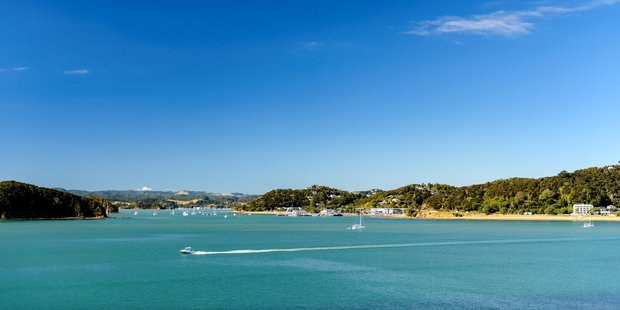 Over the water to Paihia.