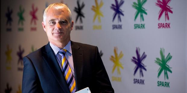 Spark CEO Simon Moutter. Photo / Dean Purcell