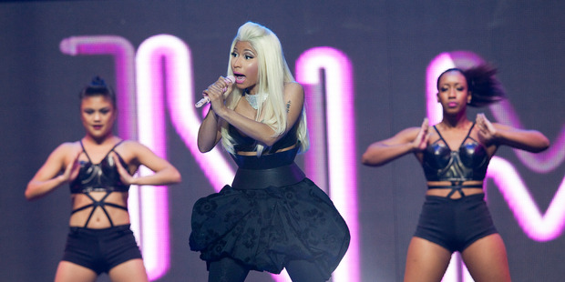 Nicki Minaj is set to be the most controversial performance at this year's MTV Video Music Awards. Photo / Neville Marriner