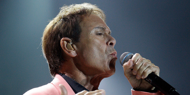 Sir Cliff Richard first became aware of the inquiry when he heard reports that his home in Sunningdale, Berkshire, was being raided. Photo / Sarah Ivey
