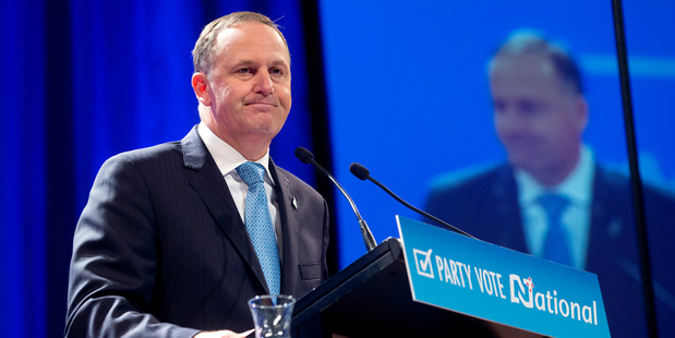One News and 3 News issued their first election campaign polls last night, with both showing National down by two points. Photo / NZ Herald