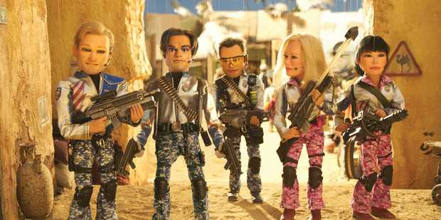 Tony Abbott must have missed the 2004 comedy, Team America: World Police, taking aim at George Bush's 'war on terror'.