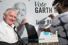 Napier Conservative Party candidate Garth McVicar, wants