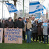 Nigel Woodley from the Flaxmere Christian Fellowship organised the Standing for Israel rally at the Hastings Town Clock between