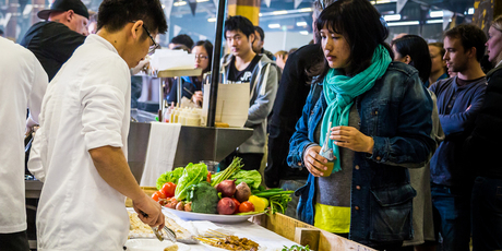 Street Eats, on at Auckland's Shed 10 this Saturday, aims to bring the street food vibe to the city. Photo / Supplied.