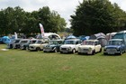 Mini enthusiasts met to celebrate the once revolutionary small car's longevity.