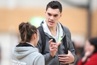 Oklahoma City Thunder centre Steven Adams was a surprise guest at last year's Under-23 National Championships held in Tauranga.PHOTO/FILE