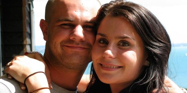 Millie Elder-Holmes was with her boyfriend, Connor Morris, as he died.