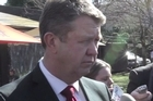 Labour Party leader David Cunliffe on the campaign trail in Tauranga today.