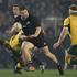 All Blacks hooker Dane Coles against Australia during the Bledisloe Cup test. Photo / Brett Phibbs