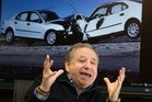 Jean Todt says there should be no let-up in the drive to improve road safety. Photo / Brett Phibbs