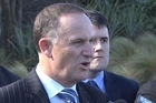 Prime Minister John Key answers questions over Nicky Hager's Dirty Politics book in Wellington.