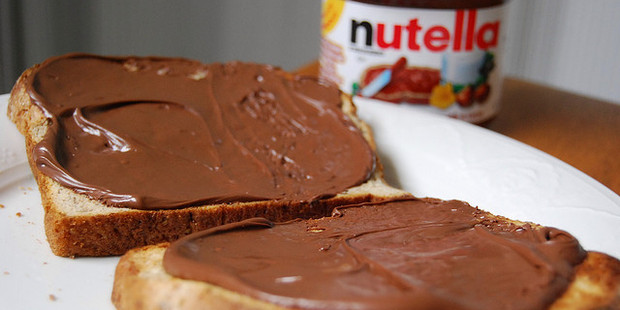 Nutella is a popular hazelnut spread. Photo / Creative Commons