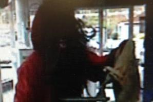 Police have released this image of the robber.