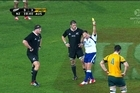 A close look at the two yellow cards in last night's 12-12 draw between the All Blacks and Wallabies. Were they deserved?